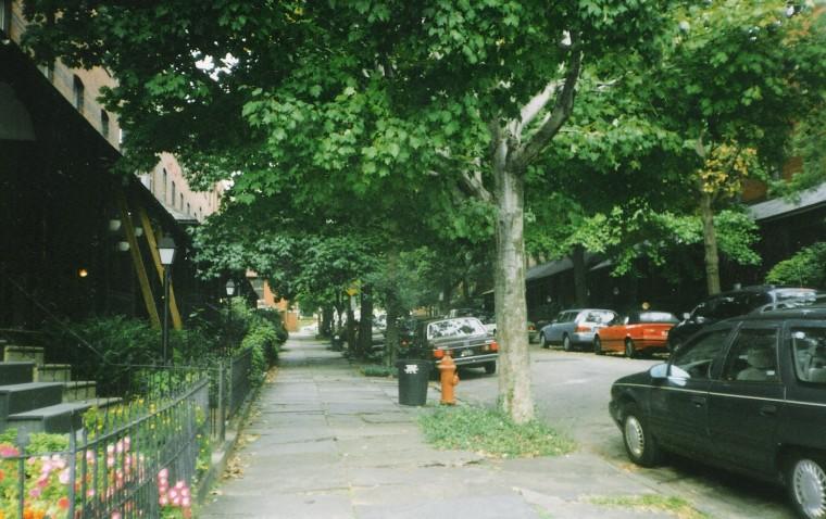 Rúas de Filadelfia