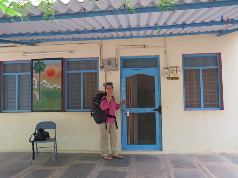 Nuestra casita en la Fundación Vicente Ferrer Anantapur