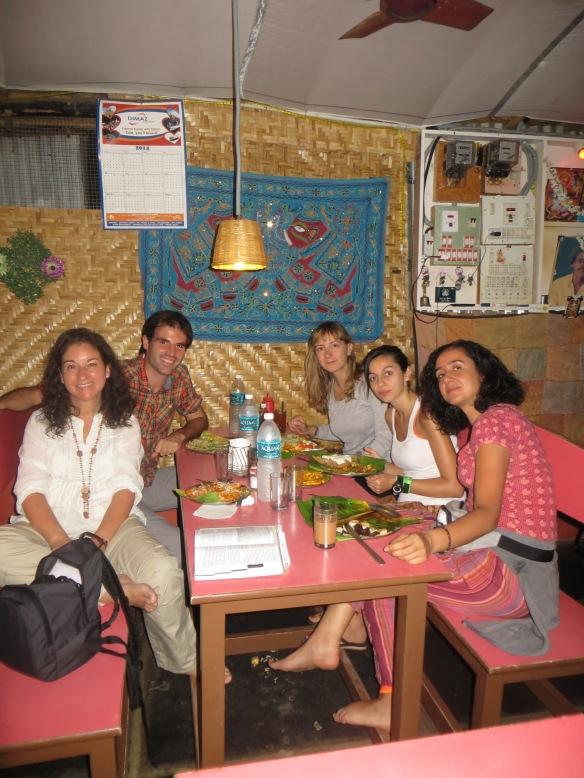 Cena en el Mango tree con Dani