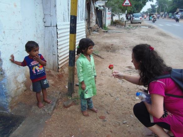 Los niños de Anantapur