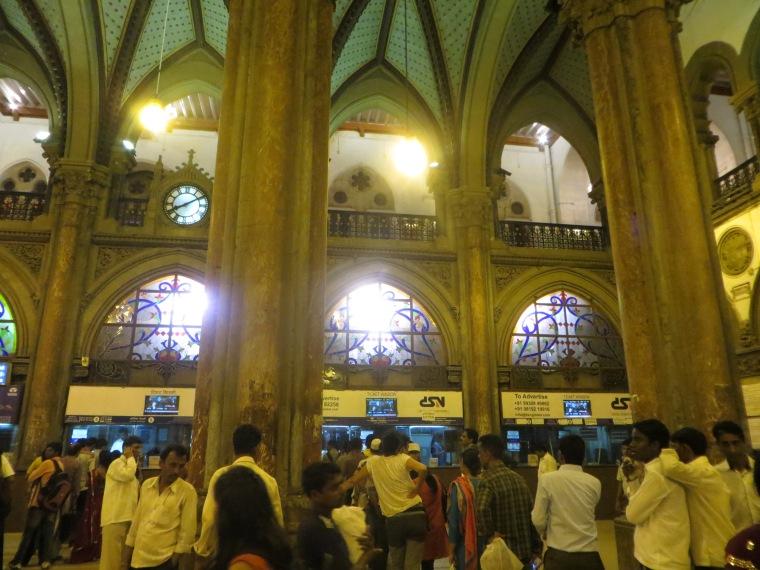 estación de tren de Mumbai
