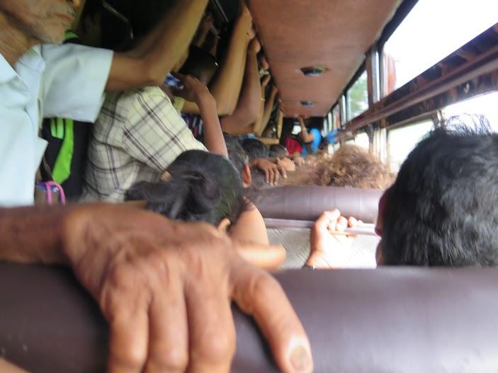 Autobús a Palolem / Foto Mayca