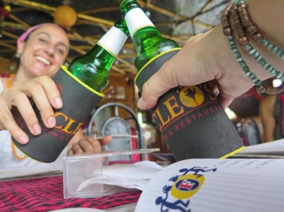 Celebrando la llegada a Goa ;) Foto Mayca