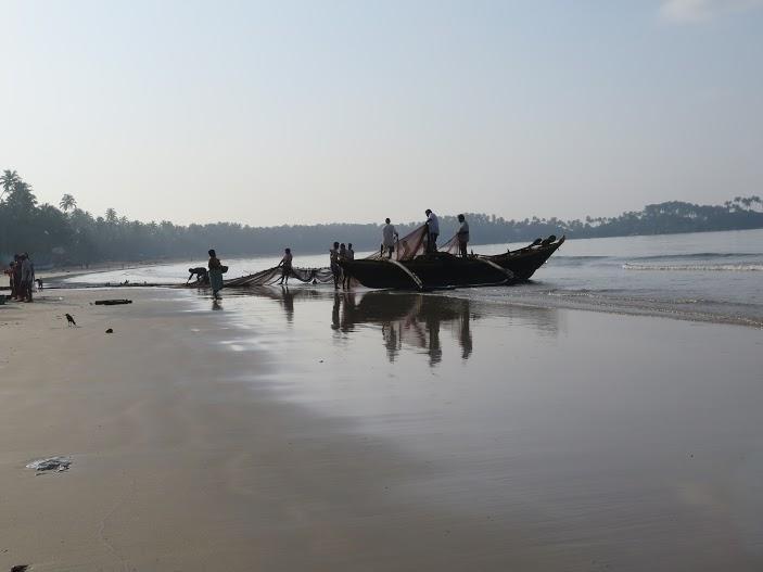 Amanecer en Goa /Foto Mónica