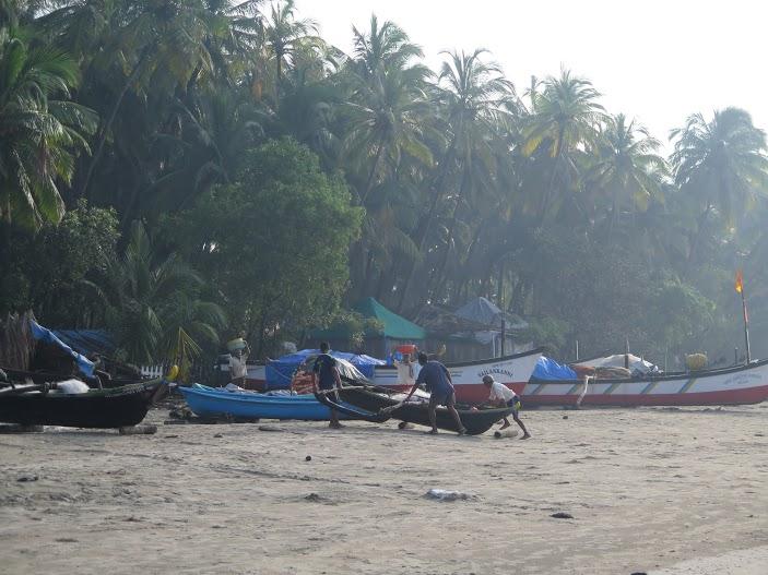 Pescadores de Goa / Foto Mónica