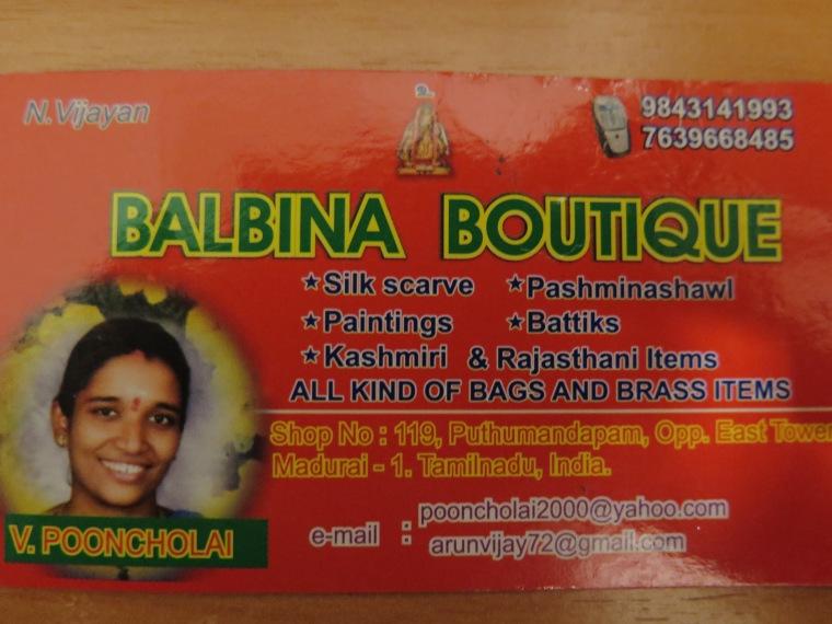 Si os pasáis pro Madurai,podéis hacerle una visita! ;)