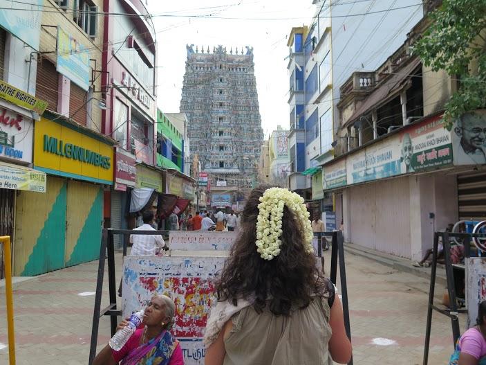 día de peinadoss en Madurai, donde fueres haz lo que vieres