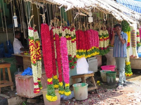 Mercado flores Madurai