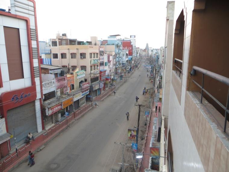 Madurai desde el hotel