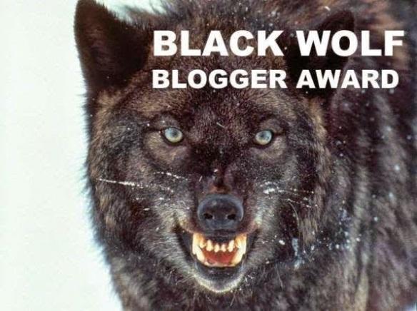 logo black wolf blogger award