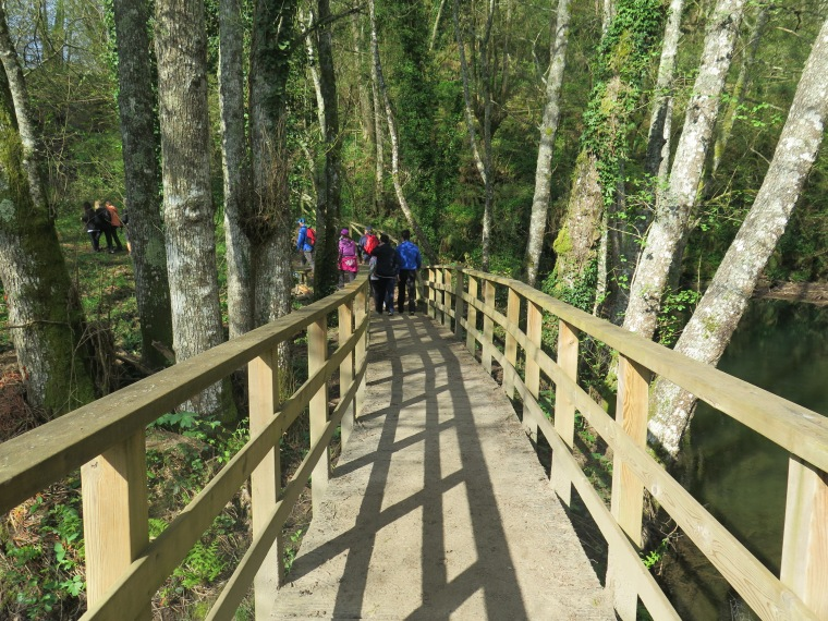 Puentes y vallas de madera
