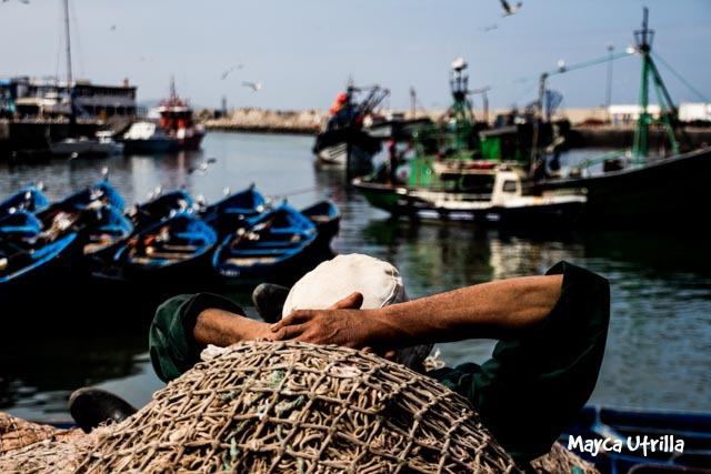 Essaouira vista por Mayca, mi súper compañera de viaje :D