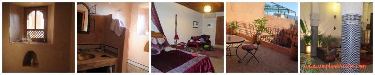 la suite del Ryad Tayba , Fez.
