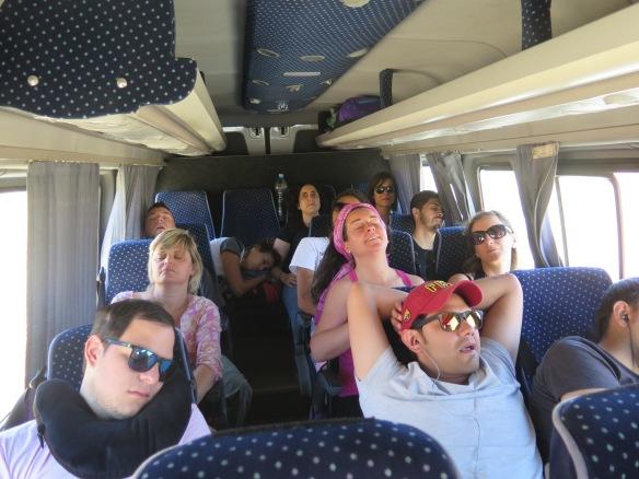 Un grupo interesante :D Aún cuando está durmiendo ;)
