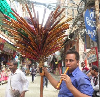 vendedor de flautas