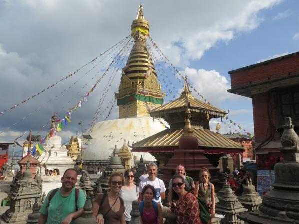 Templo de los monos,Kathmandu