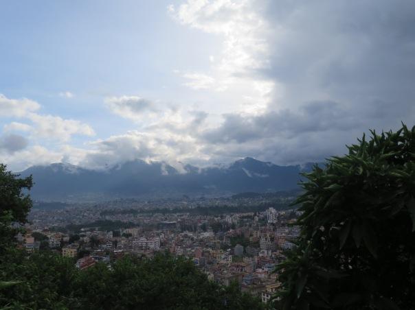 Kathmandu desde el templo de los monos