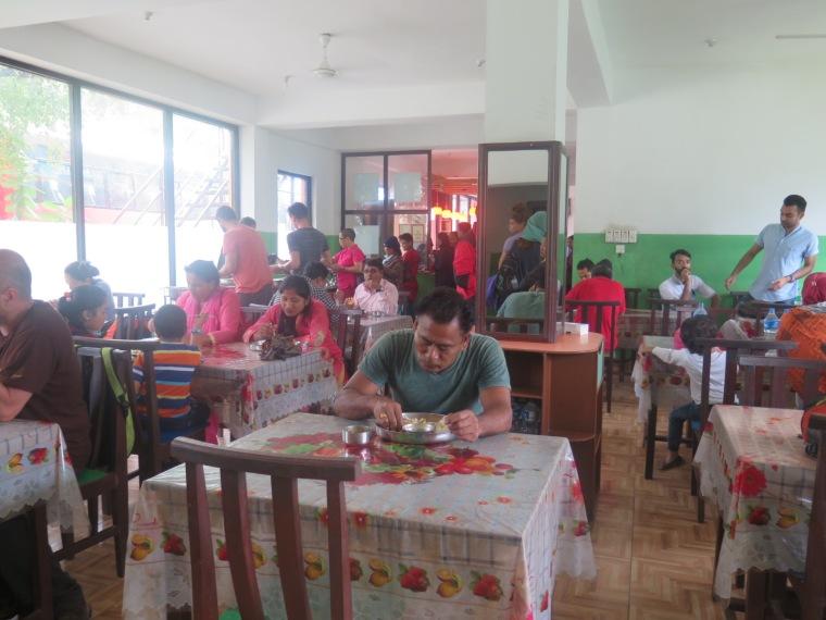 Restaurante de carretera, kahmandu-Pokhara