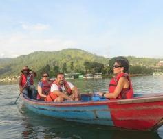 Phewa lake, lago de Pokhara