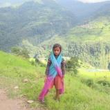niña nepalí