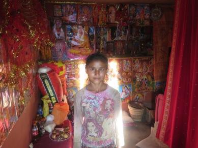 Habitación , templo hinduísta