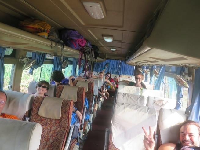 nuestro bus a kathmandu