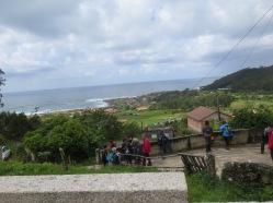 Vistas desde la Iglesia de Mougás