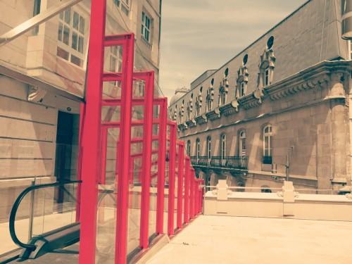 Escaleras eléctricas, puerta del sol, Vigo