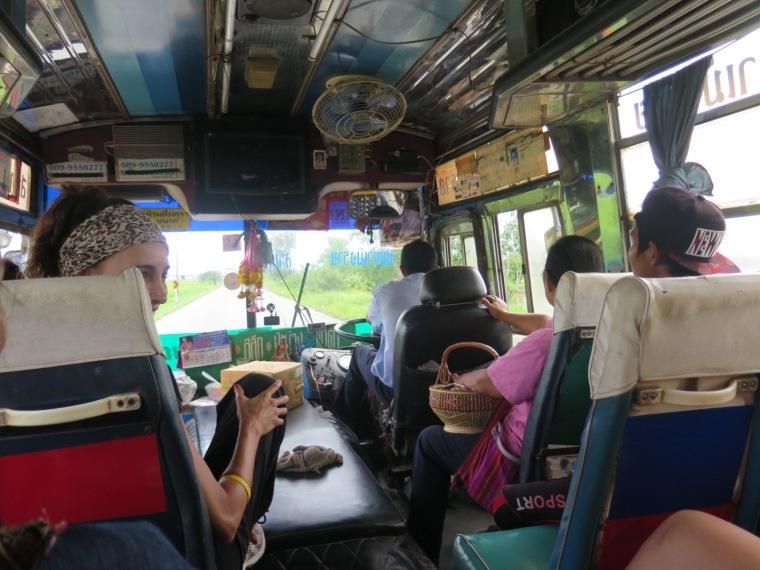 Autobús Chiang Rai-Frontera laos