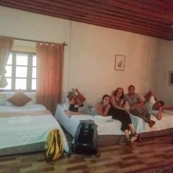 Nuestra guesthouse en Luang Prabang