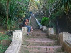 Subida al Monte Phou Si