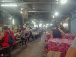 las cenas en el night market