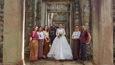 Fotos de boda en Angkor