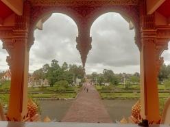 vistas desde el interior del templo