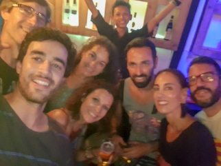 Selfie con el argentino ;)
