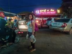 El night market de Siem Reap