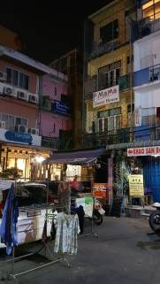 callejón cercano a Khaosan Road