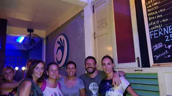 El bar latino del argentino