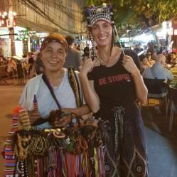 vendedora de Bangkok