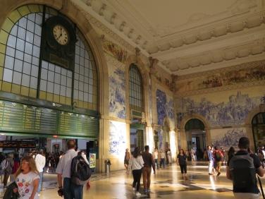 Estación de sao Bento, Porto