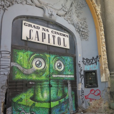 Bucharest street art
