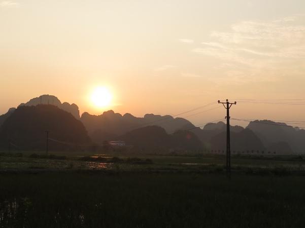 arrozales Ninh Binh