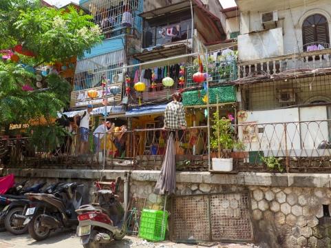 La calle del tren , Hanoi