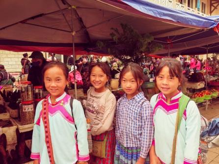 Escolares de Sapa