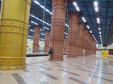 Estación Olaias metro Lisboa