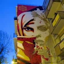 Shepard Fairey & Whils , street art in Lisbon