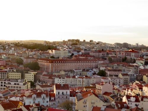 Lisboa , Mirador de Santa justa