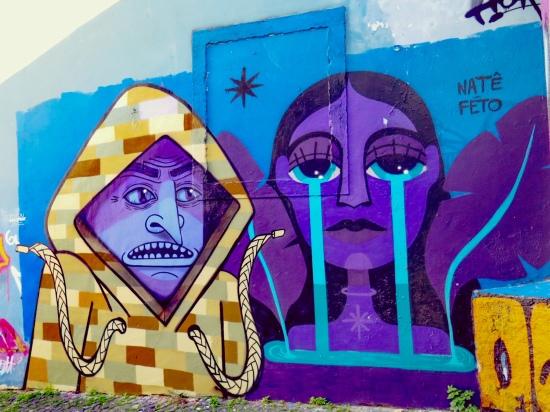 Graffiti en Caracol da Graça