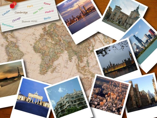 postales de viaje