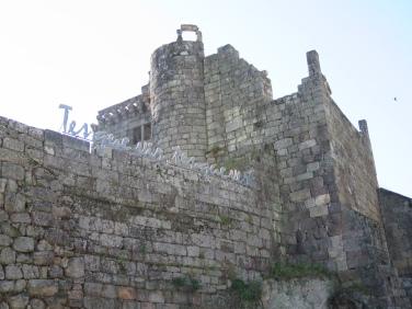 Tes que vir tes que ver. Castelo de Ribadavia